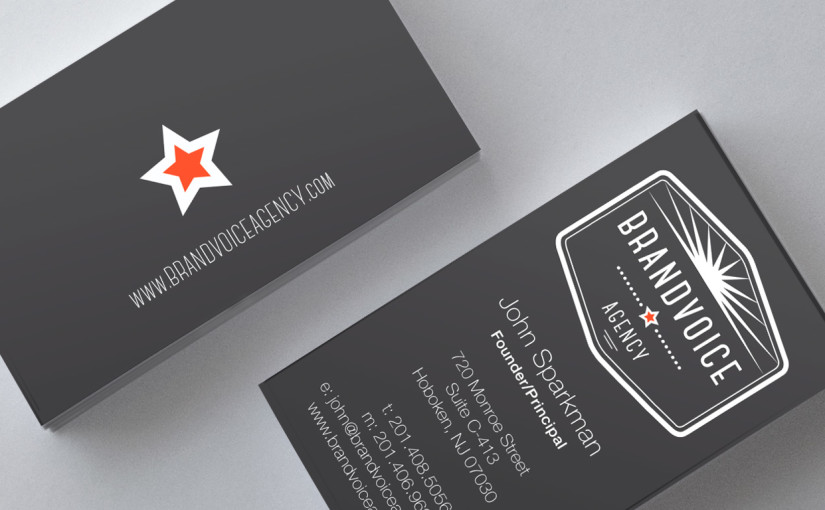Brandvoice a design and marketing communications agency 5 reasons why you still need business cards colourmoves Images